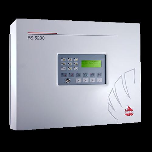 Centrala de incendiu conventionala  - 8 zone extensibila la 32 - UNIPOS FS5200 [0]