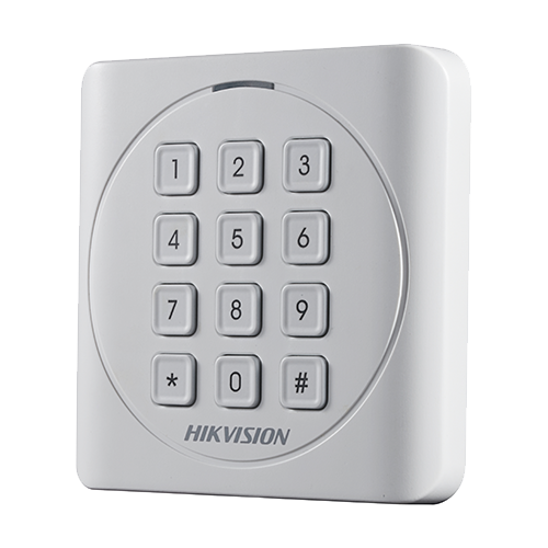 Cititor de proximitate RFID EM125Khz cu tastatura integrata - HIKVISION DS-K1801EK [2]