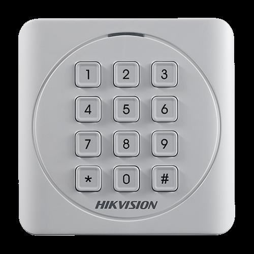 Cititor de proximitate RFID EM125Khz cu tastatura integrata - HIKVISION DS-K1801EK [1]