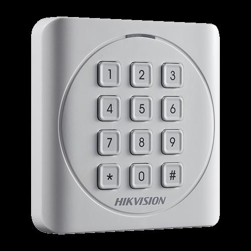Cititor de proximitate RFID EM125Khz cu tastatura integrata - HIKVISION DS-K1801EK [0]