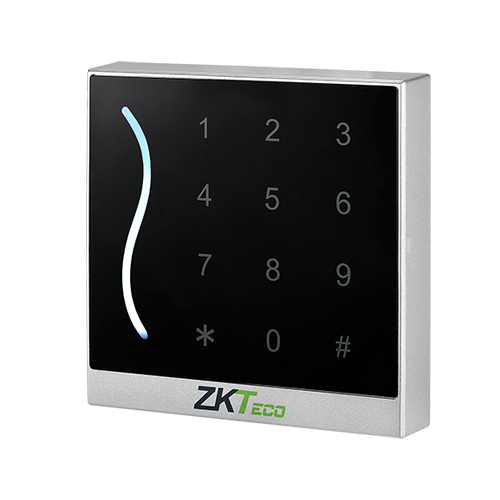 Cititor de proximitate RFID EM125Khz cu tastatura integrata, IP65, alb - ZKTeco GL-ER-PROID30-W-WG-1 [0]
