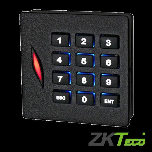 Cititor de proximitate RFID MIFARE 13.56Mhz cu tastatura integrata -ZKTeco KR102M [0]