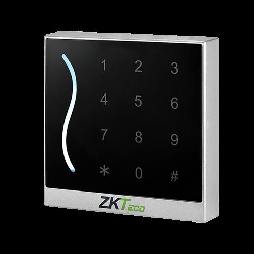 Cititor de proximitate RFID MIFARE 13.65Mhz cu tastatura integrata, IP65, alb - ZKTeco GL-ER-PROID30-W-WG-2 [0]