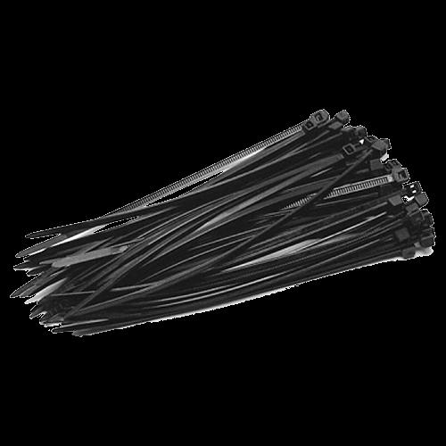 Coliere de plastic NEGRE, 140x3,5 (100 buc.) SEL.3.210 [0]