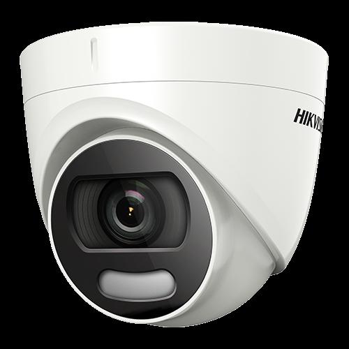 ColorVU - Camera AnalogHD 2MP, lentila 2.8mm, Lumina alba 20 m - HIKVISION DS-2CE72DFT-F28 [0]