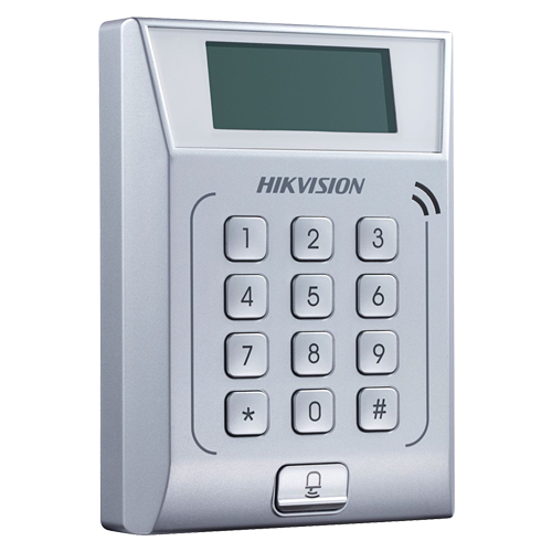 Controler stand-alone TCP/IP cu tastatura si cititor card  - HIKVISION DS-K1T802M [0]