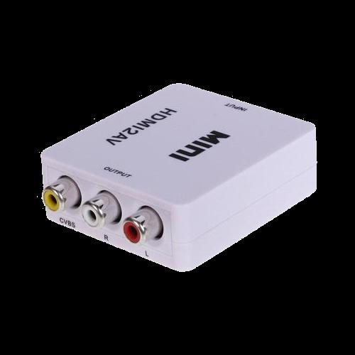 Convertor activ - HDMI la semnal AV/CVBS HDMI-AV [1]