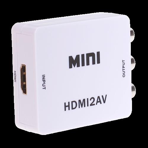 Convertor activ - HDMI la semnal AV/CVBS HDMI-AV [2]
