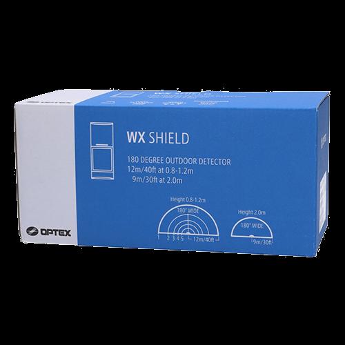 Detector de miscare PIR+MW exterior, 12-19m, 180°, quad cu anti-masking, baterii - OPTEX WXS-RDAM-X5 [2]