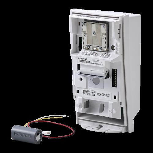 Detector de miscare PIR+MW exterior, montare high/low, baterii - OPTEX QXI-RDT-X5 [2]