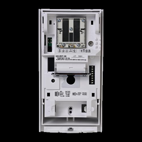 Detector de miscare PIR+MW exterior, montare high/low, baterii - OPTEX QXI-RDT-X9 [1]