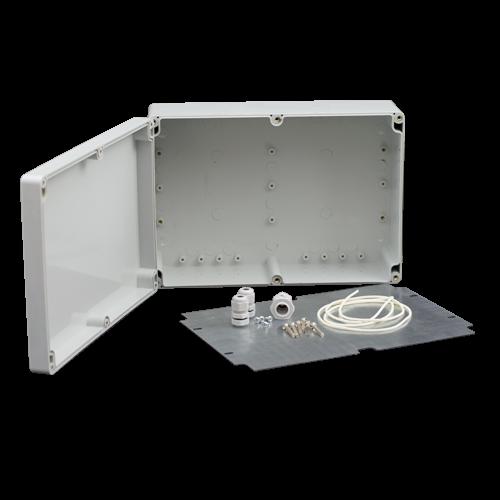 Doza exterior cu contraplaca metalica pentru montaj echipamente AWO604 [0]