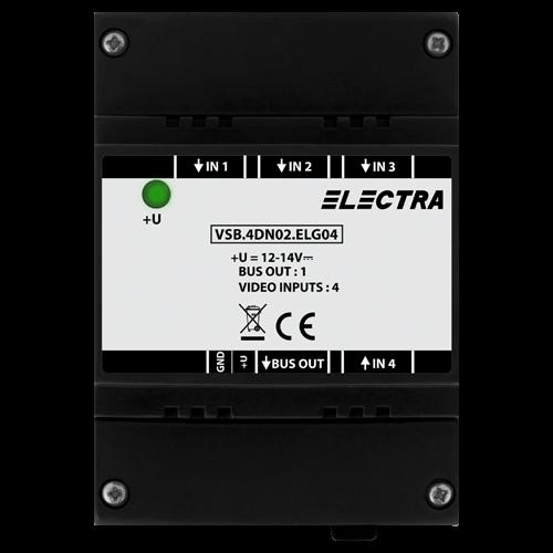 Doza selectie video Electra, 4 intrari video smart - VSB.4DN02.ELG04 [0]
