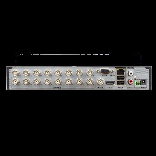 DVR 16 ch. video 5MP lite, 1 ch. audio, H.265 - ASYTECH VT-1416HC [2]