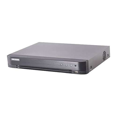 DVR 4 canale video 4MP lite, AUDIO HDTVI over coaxial - HIKVISION DS-7204HQHI-K1(S) [0]