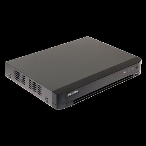 DVR AcuSense 4 ch. video 4MP, Analiza video, AUDIO HDTVI over coaxial - HIKVISION iDS-7204HQHI-M1-FA [0]
