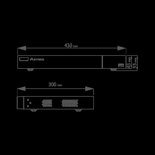 DVR Pentabrid 16 canale 2MP - 1080P - ASYTECH seria VT VT-2316HP [3]