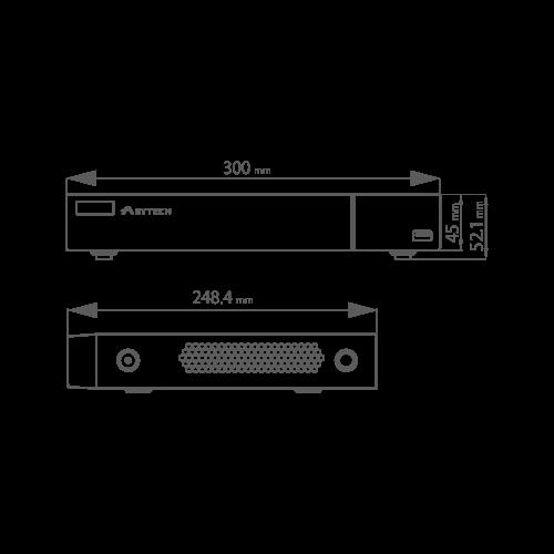 DVR Pentabrid 16 canale  2MP - 1080p Lite - ASYTECH seria VT VT-1316HL [3]