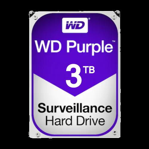 Hard disk 3TB -WD PURPLE WD30PURX [0]