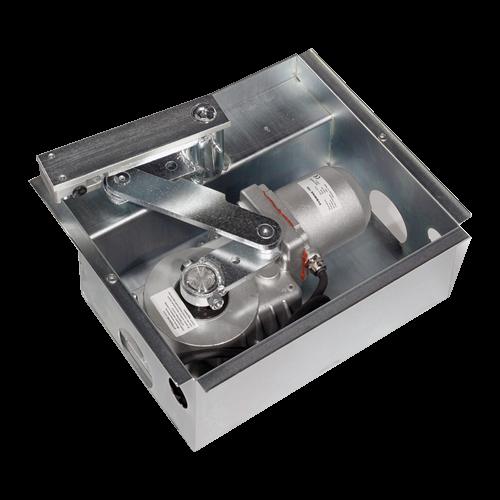 Automatizare ingropata pentru poarta batanta 2x2.5m - MOTORLINE SUBWING700-KIT [1]