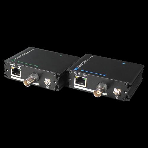 Extender date+PoE (EPOC) pe cablu Coaxial/UTP, 400-500 metri - UTEPO UTP7301EPOC [0]