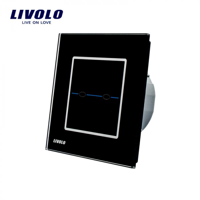 Intrerupator dublu,negu - seria R - Livolo Vl-C702-32 [0]