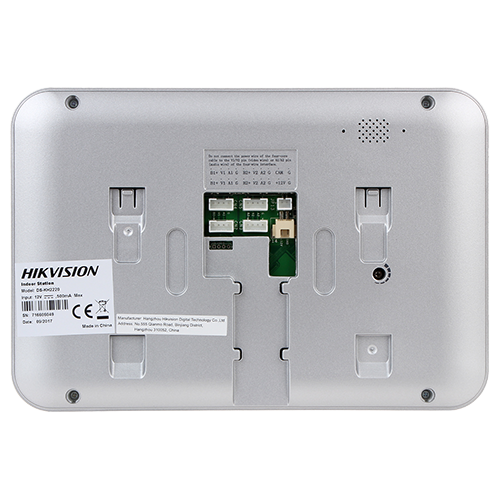Kit videointerfon Hikvision analogic 7'', conectare 4 fire - DS-KIS203 [3]
