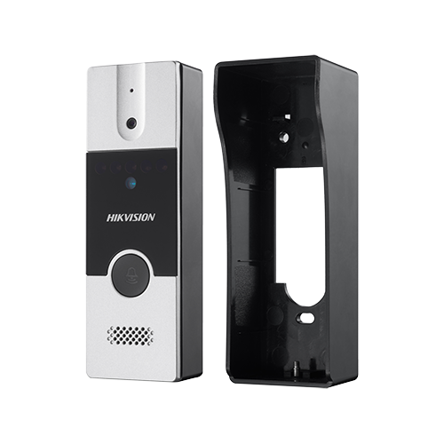 Kit videointerfon analogic 7'', conectare 4 fire - HIKVISION DS-KIS202 [1]