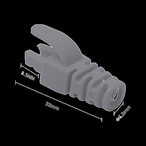 Manson mufa RJ45 gri, 100 buc. RJ45-CAP-GY [0]