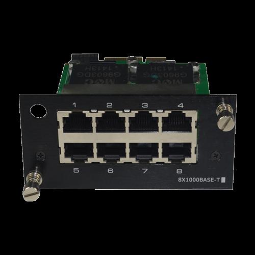 Modul 8 porturi RJ45 10/100/1000Mbs - UTEPO UTP7524GE-M8T [0]