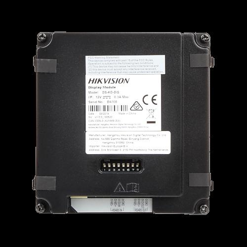 Modul afisaj LCD TFT pentru Interfon modular - HIKVISION DS-KD-DIS [2]