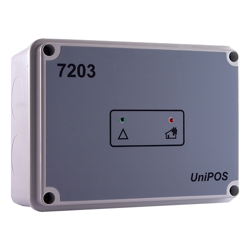 Modul  de comanda adresabil - 3 intrari, 6 iesiri - UNIPOS FD7203 [0]