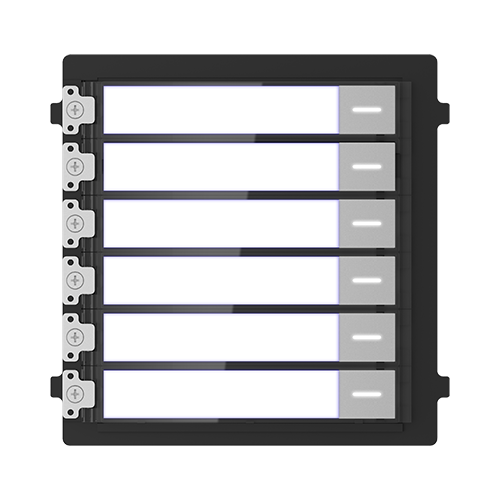 Modul extensie afisaj 6 familii pentru Interfon modular - HIKVISION DS-KD-KK [1]