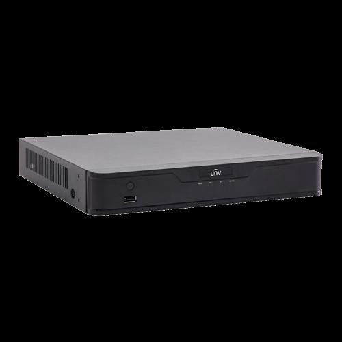 NVR 4K, 16 canale 8MP + 8 porturi PoE - UNV NVR301-16-P8 [2]