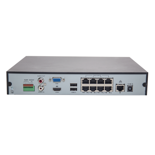 NVR 4K, 16 canale 8MP + 8 porturi PoE - UNV NVR301-16-P8 [3]