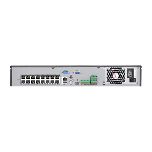 NVR 4K, 32 canale 12MP +16 porturi POE- HIKVISION DS-7732NI-I4-16P [2]