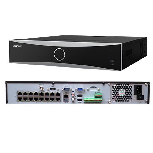 NVR 4K AcuSense 32 canale 12MP,  + 16 porturi PoE - HIKVISION DS-7732NXI-I4-16P-S [2]