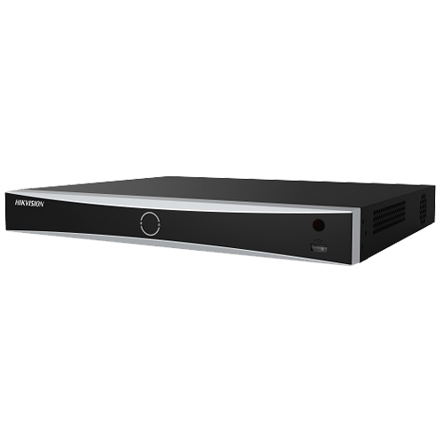 NVR AcuSense 16 canale 12MP + 16 PoE, tehnologie 'Deep Learning' - HIKVISION DS-7616NXI-I2-16P-4S [0]