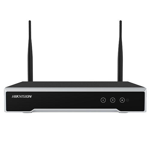 NVR Wi-Fi 4 canale 4MP - HIKVISION DS-7104NI-K1-WM [0]