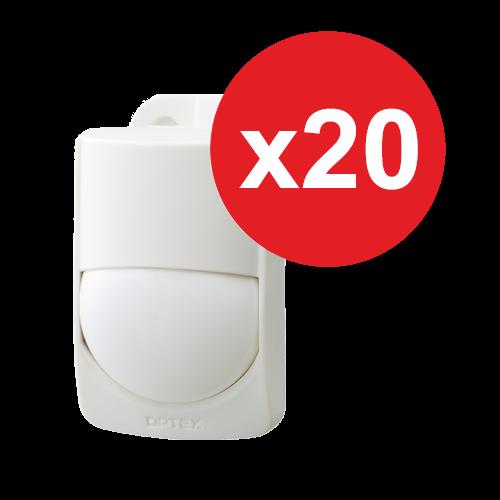 PACHET 20 buc. - Detector de miscare PIR RXC-ST RXC-ST-20 [0]