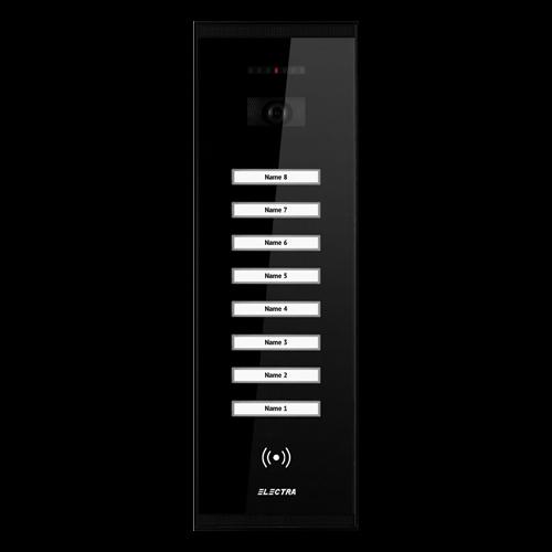Post videointerfon Electra exterior smart pentru 8 Familii - VPM.8SR02.ELB04 [0]