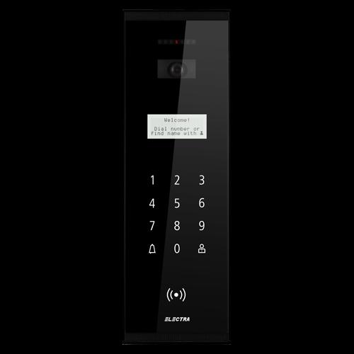 Post videointerfon Electra exterior smart pentru blocuri - VPM.BSR02.ELB0R [0]