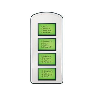 Panou lista locatari pentru interfoane Electra - PLL.42I [0]