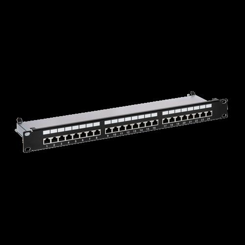 Patch Panel 1U, FTP cat6A, 24 porturi RJ45 - ASYTECH Networking ASY-PP-FTP6A-24 [0]