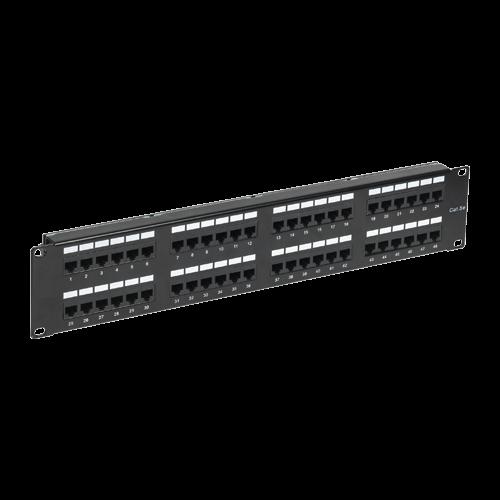 Patch Panel 2U, FTP cat6, 48 porturi RJ45 - ASYTECH Networking ASY-PP-FTP6-48 [0]