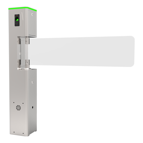 Poarta batanta automata din sticla pentru acces persoane cu dizabilitati - ZKTeco TS-SBT1000S [0]