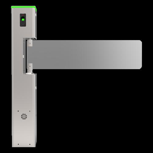 Poarta batanta automata din sticla pentru acces persoane cu dizabilitati - ZKTeco TS-SBT1000S [1]