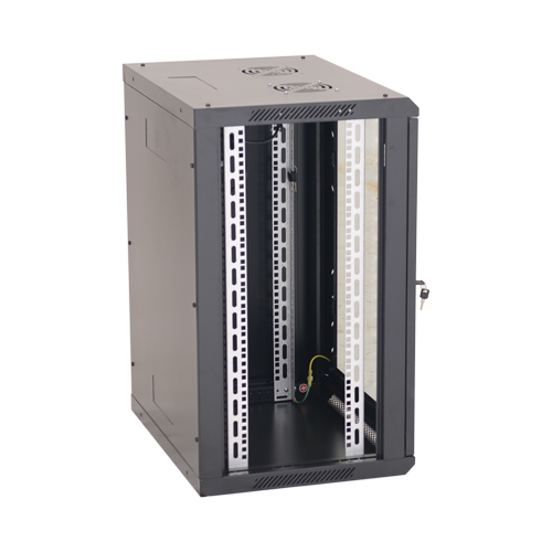 Rack perete 15U 19' 600x450, negru - ASYTECH Networking ASY-15U-6045W [1]