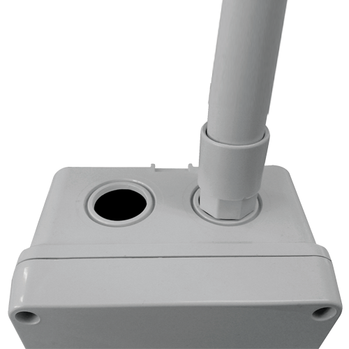 Racord cutie pentru tub PVC 25 - DLX TRP-875-25 [0]