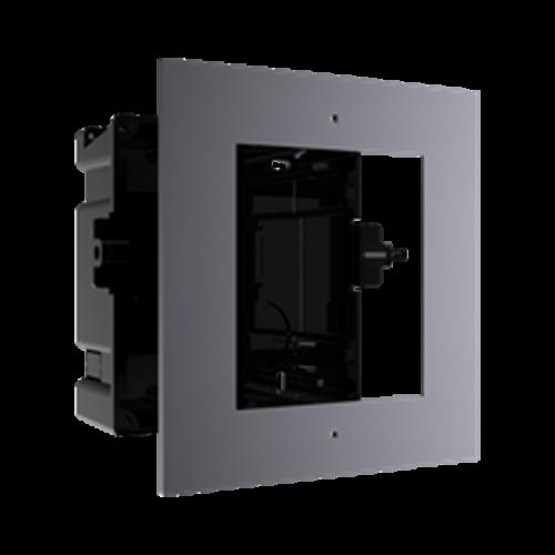 Rama montaj ingropat, 1 modul, pentru Interfon modular - HIKVISION DS-KD-ACF1 [0]
